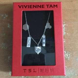 謝瑞麟 x Vivienne Tam 全新 純銀 頸鏈