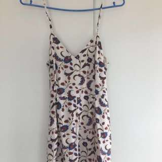 Floral kookai playsuit