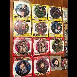Boku no Hero Academia JUMPSHOP Can Badges