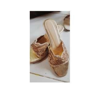 Flat shoes fiber