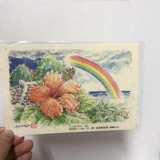 🚚 全新 日本 沖繩帶回 明信片 #含運最划算
