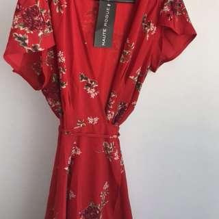 Wrap dress/ cover / kimono