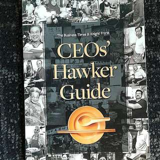 CEO's Hawker Guide (The Business Times, SPH)