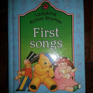 "Ladybird Action Rhymes, ""First Songs"""