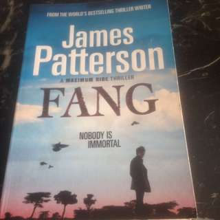 FANG by James Patterson (One day Special Offer!)
