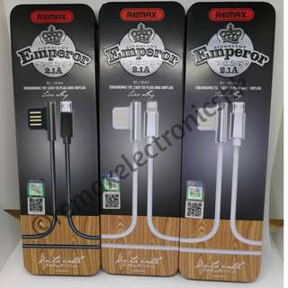 FAST CHARGING Remax Emperor Data Cable Android and iPhone