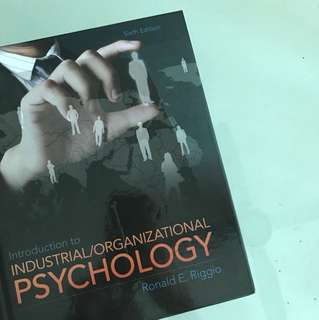 Industrial/Organisational Psychology