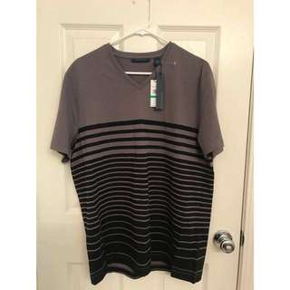 Brand new Perry Ellis V neck top