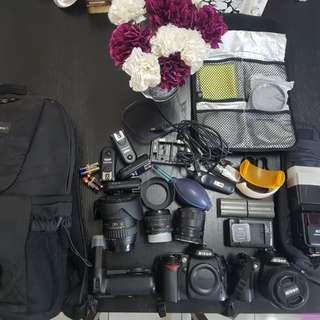 Nikon d90 and accessories all must letgo