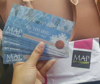 Voucher MAP Rp 1.500.000 only Rp 1.350.000