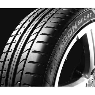 215/45/17 倍耐力 Pirelli 龍-運動性能胎 親民價高性能首選 Dragon Sport 耐磨400 AA級抓地