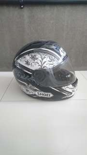 Shoei bike helmet