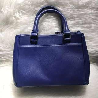 ZARA TRF BLUE BAG