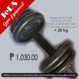 adjustable dumbbell set