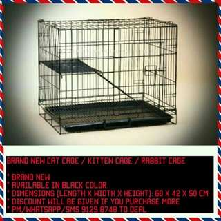 Brand New Cat Cage / Kitten Cage / Rabbit Cage / Bird Cage