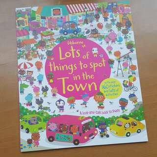 BN Usborne sticker books
