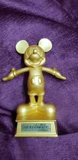 Figurine of Golden Mickey Mouse (Disneyland)