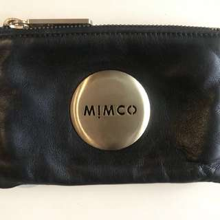 MIMCO Pouch - Black & Gold