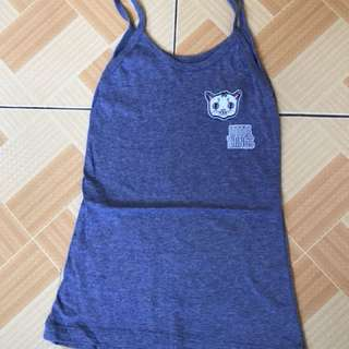 Sleeveless with patches