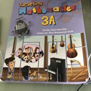 Targeting Maths textbook P3A