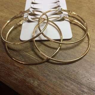 Primark Gold Hoops
