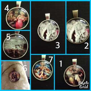 Old time photos Necklaces