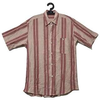 第二件6折🎉直條紋襯衫 二手 復古