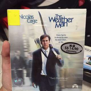 Nicolas Cage The Weather Man DVD