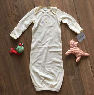 Carter's baby newborn sleepsuit/swaddle