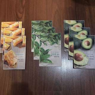 Nature Republic Real Nature Face Masks