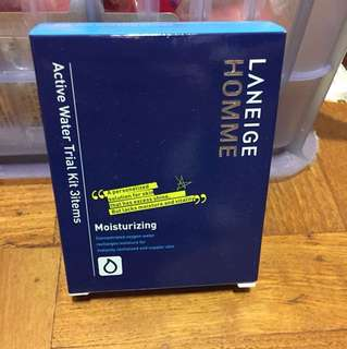 Laneige homme active water trial kit