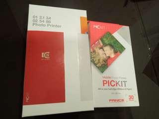Brand new pickit mobile photo printer
