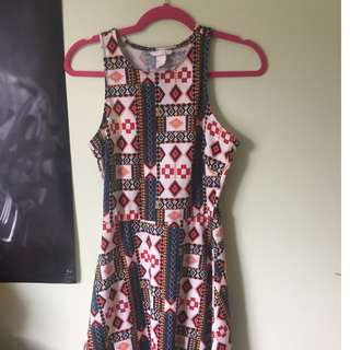 H and M Skater Dress size 10