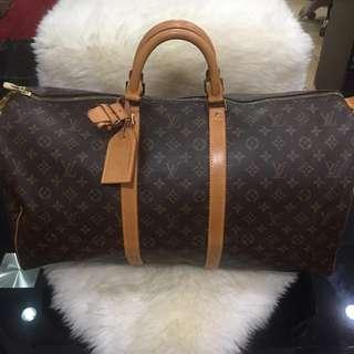 Louis Vuitton Keepall 55 Rank A