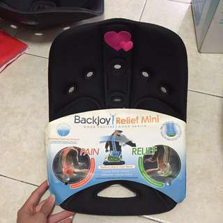 Backjoy relief mini for good posture seat