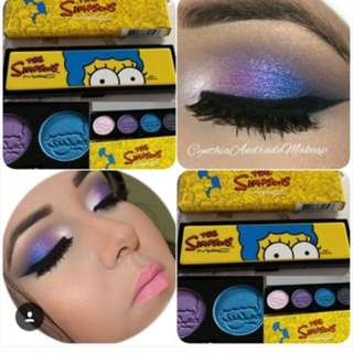 Simpsons eyeshadow palette
