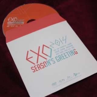EXO SEASON'S GREETINGS 2014 DVD