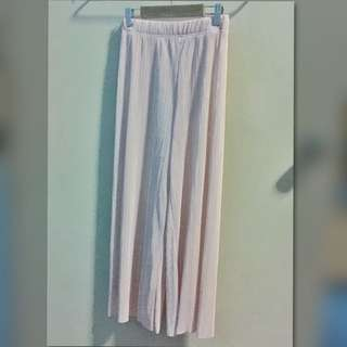 Bershka Light Pink Culottes