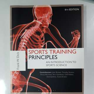 Book - sports training principles
