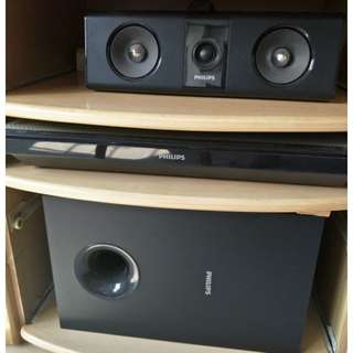 PHILIPS [ 5.13B Blue-Ray Home Theater ]