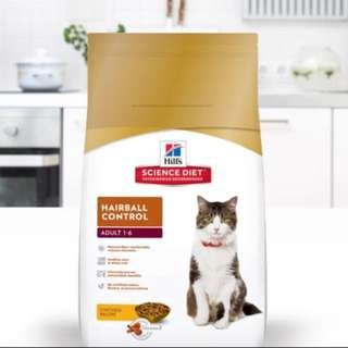 Hills Science Cat Dry food - hairball control