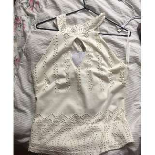 size 10 cute small detailed shirt
