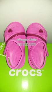 CROCS KIDS LINA SANDAL PARTY PINK
