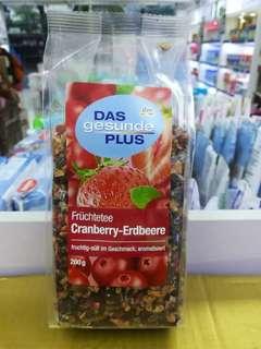德國DM Das蔓越莓草莓花果茶
