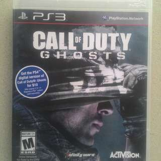 Kaset bd ps3 game original call of duty cod ghost