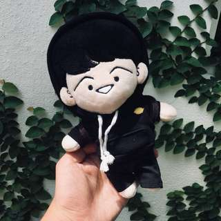 BTS Suga Doll Set Rap Mon Cafe