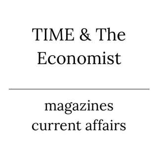 TIME and The Economist magazines - A LEVELS GP