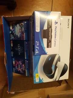 PS VR + PS Camera + Games Bundle