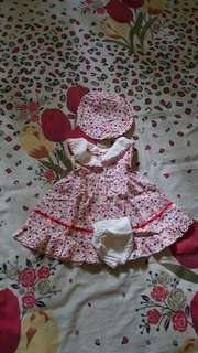 Baby dress ( 1 set )