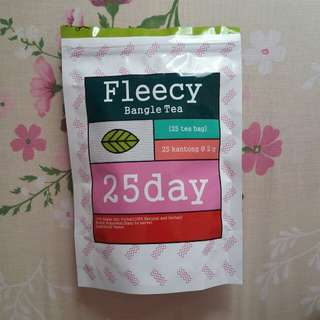 fleecy 25days detox tea